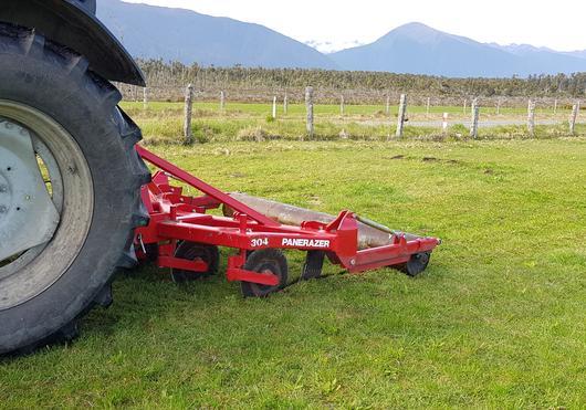 Rata panerazer grassland aerator
