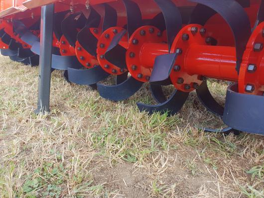 Rotor of heavy duty vigolo rotary hoe