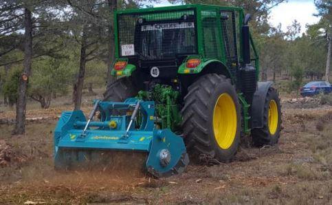 Forestry Mulcher clearing undergrowth | Picursa