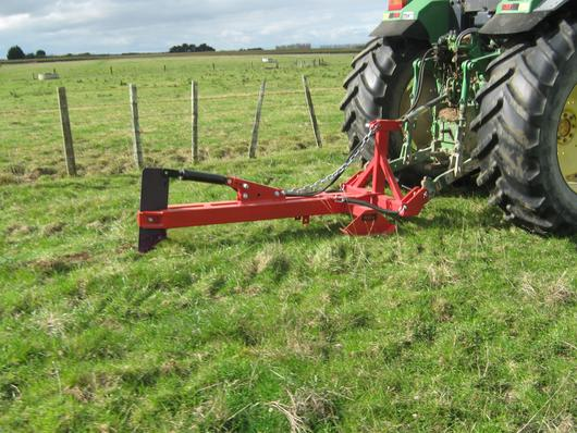 heavy duty grassland mole plough