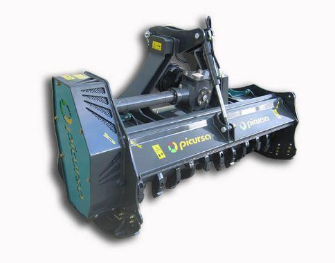 Forestry mulcher with Fixed carbide teeth | Picursa Boxing