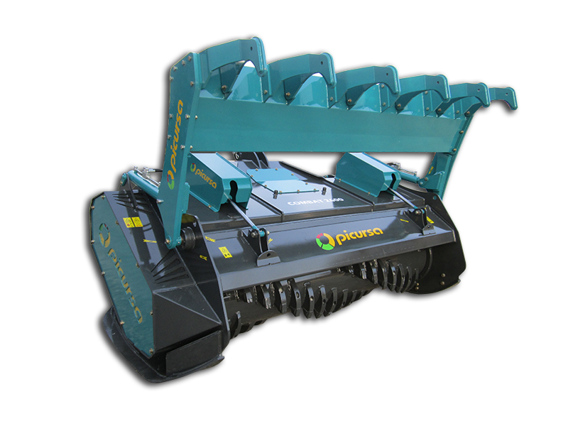 Heavy Duty Fixed tooth Forestry Mulcher with Raker bar