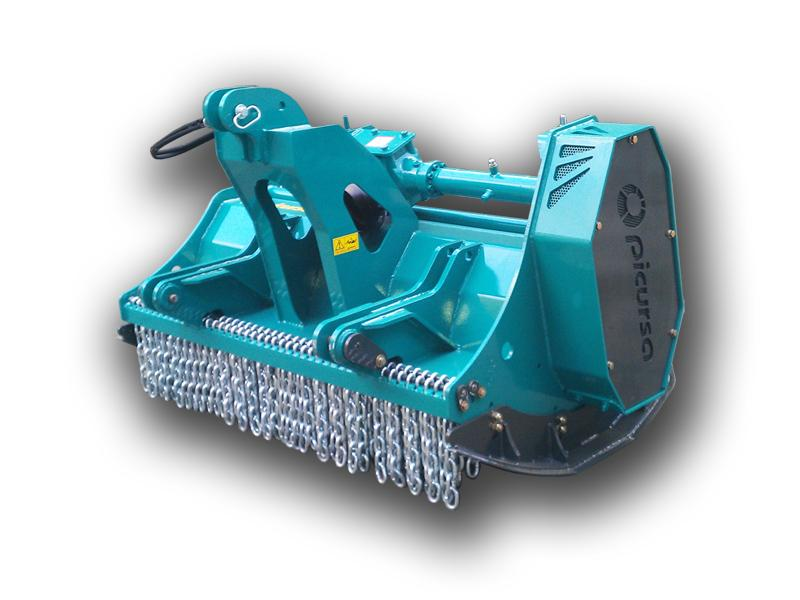 Forestry Mulcher with 360 degree swinging hamers