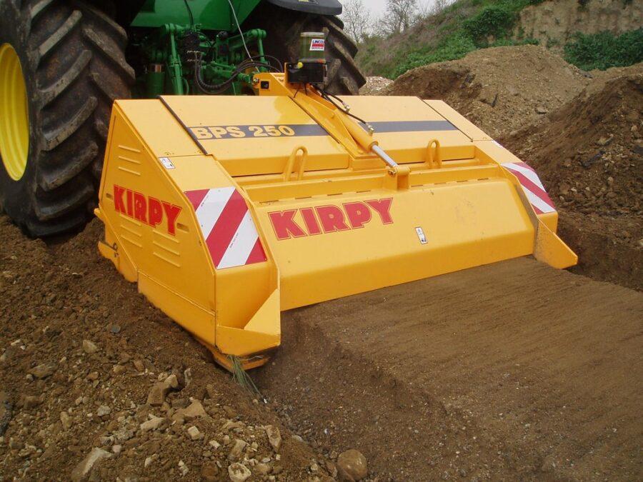 Kirpy BPS Crushing Rock in Lane