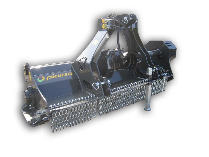 Picursa Mini boxing fixed tooth forestry mulcher