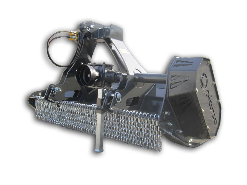 Light fixed tooth forestry mulcher | Picursa