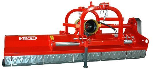 Vigolo low body mulcher mower