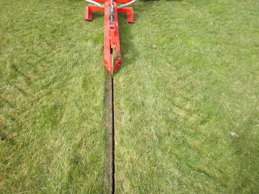 minimum disturbance mole plough