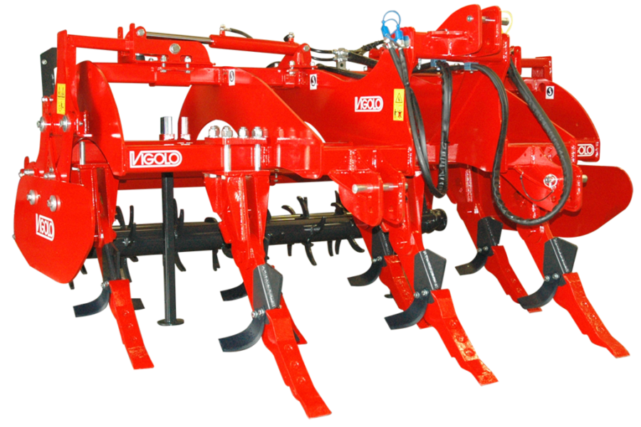 Vigolo Cracker ripper with spiked rollers