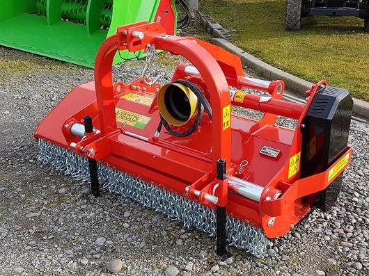 Vigolo orchard mulcher with guarded ends