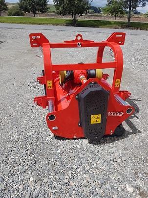 Heavy duty front/rear mount low body mulcher   Vigolo RSA