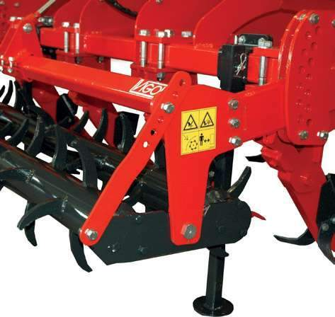 Adjustable double spiked roller on Vigolo deep ripper