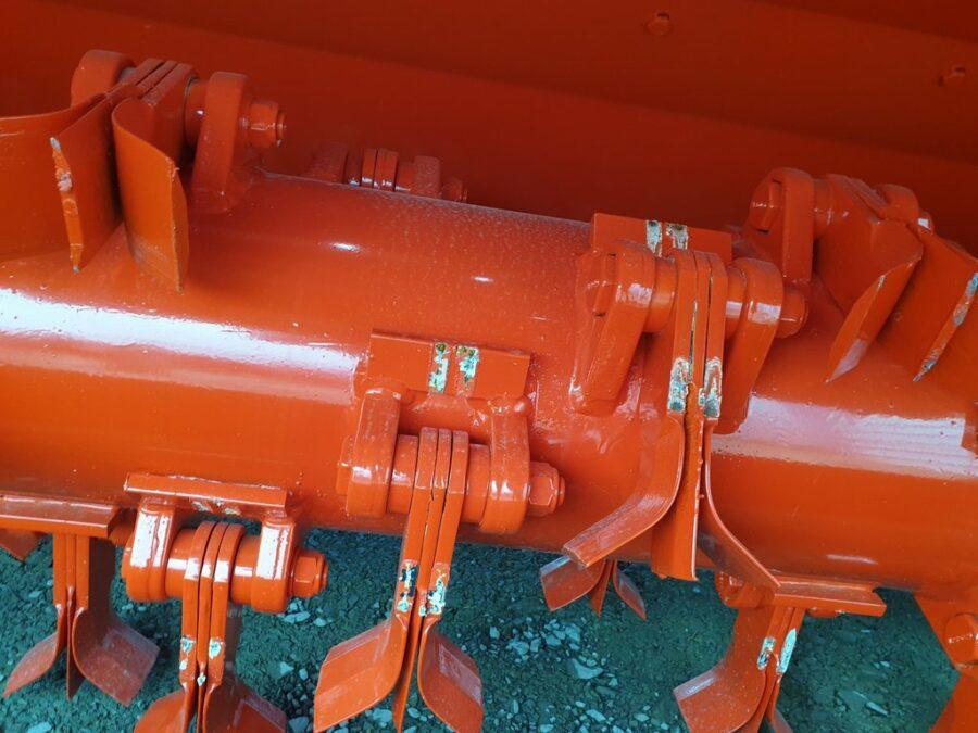 Large rotor is Vigolo heavy duty mulcher