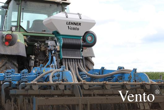 Lehner air seed drill on speed disc