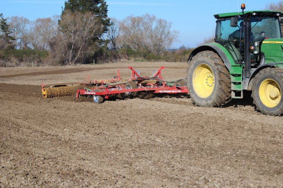 Trailed Maxitill Cultivator | Agriline Cultivation machinery